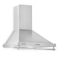 Klarstein Montblanc, odsavač par, 610 m³ / h, 165W, 2x1,5W LED, závěsná tyč, šedostříbrná barva