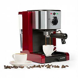Klarstein Passionata Rossa 20 kávovar na výrobu espressa, 20 bar, cappuccino, mléčná pěna, červená barva