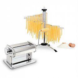 Klarstein Pasta Set, zařízení na přípravu těstovin, ušlechtilá ocel & Sušička těstovin Verona