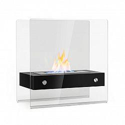 Klarstein Phantasma Glassy, ethanolový krb, bez kouře, hořák z ušlechtilé oceli, ušlechtilá ocel