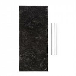 Klarstein Royal Flush 60 filtr s aktivním uhlím, filtrační podložka, 37,5x16,7 cm