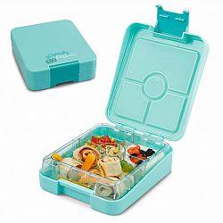 Klarstein schmatzfatz junior, svačinkový box, 4 přihrádky,  18 × 15 × 5 cm