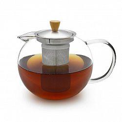 Klarstein Sencha, konvice na čaj, 1,3 l, sítko z ušlechtilé oceli, borosilikátové sklo, víčko