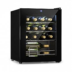 Klarstein Shiraz, vinotéka, 42 l, dotykový ovládací panel, 131 W, 5 - 18 ° C, černá