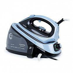 Klarstein Speed Iron V2, napařovací žehlička, 2100 W, 1100 ml, EasyGlide, černo/modrá