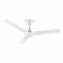 Klarstein Spin Doctor, bílý, 55 W, stropní ventilátor, 122 cm, 3 ramena, nerezavějící ocel