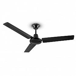 Klarstein Spin Doctor, černý, 55 W, stropní ventilátor, 122 cm, 3 ramena, nerezavějící ocel