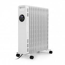 Klarstein Thermaxx Heatsream, olejový radiátor, 2500 W, 5–35 °C, 24hodinový časovač, bílý