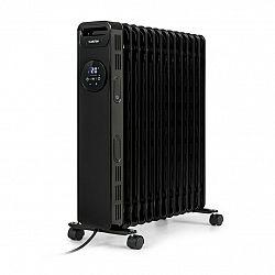 Klarstein Thermaxx Heatstream, olejový radiátor, 2500 W, 5–35 °C, 24hodinový časovač, černý