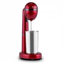 Klarstein van Damme, 100 W, mixér na míchání drinků, 450 ml, nerezová nádoba, červený