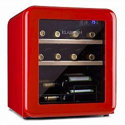 Klarstein Vintage 12, chladnička na nápoje, chladnička, 46 litrů, 4-22 °C, retro-design