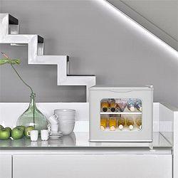 Klarstein Winehouse, minibar, 17 l, 60W, třída A ++, 38dB, skleněná dvířka, stříbrný