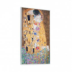 Klarstein Wonderwall Air Art Kuss, infračervený ohřívač, 60 x 101 cm, 600 W, nástěnná montáž